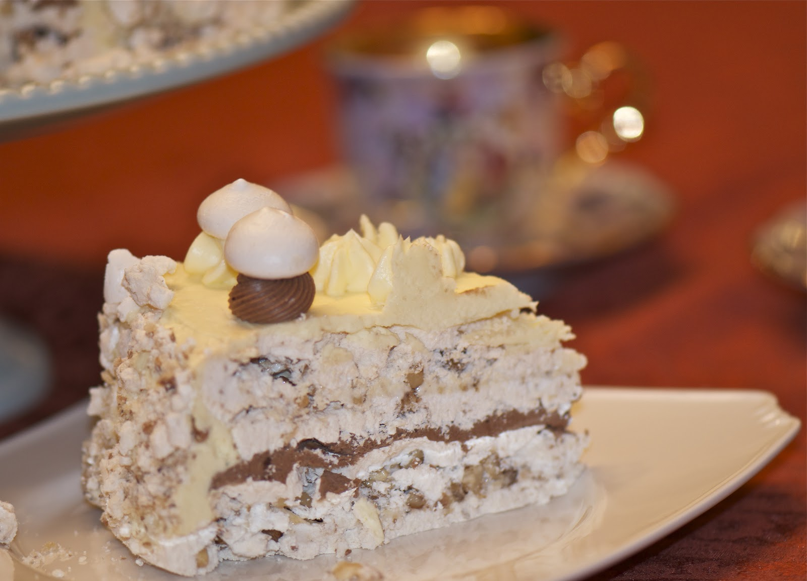 Recipe for bize with cream 73
