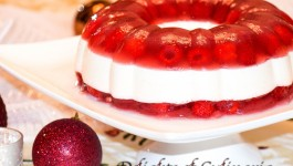 Raspberry Jello Holiday Ring