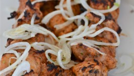 Grilled Chicken Kebabs