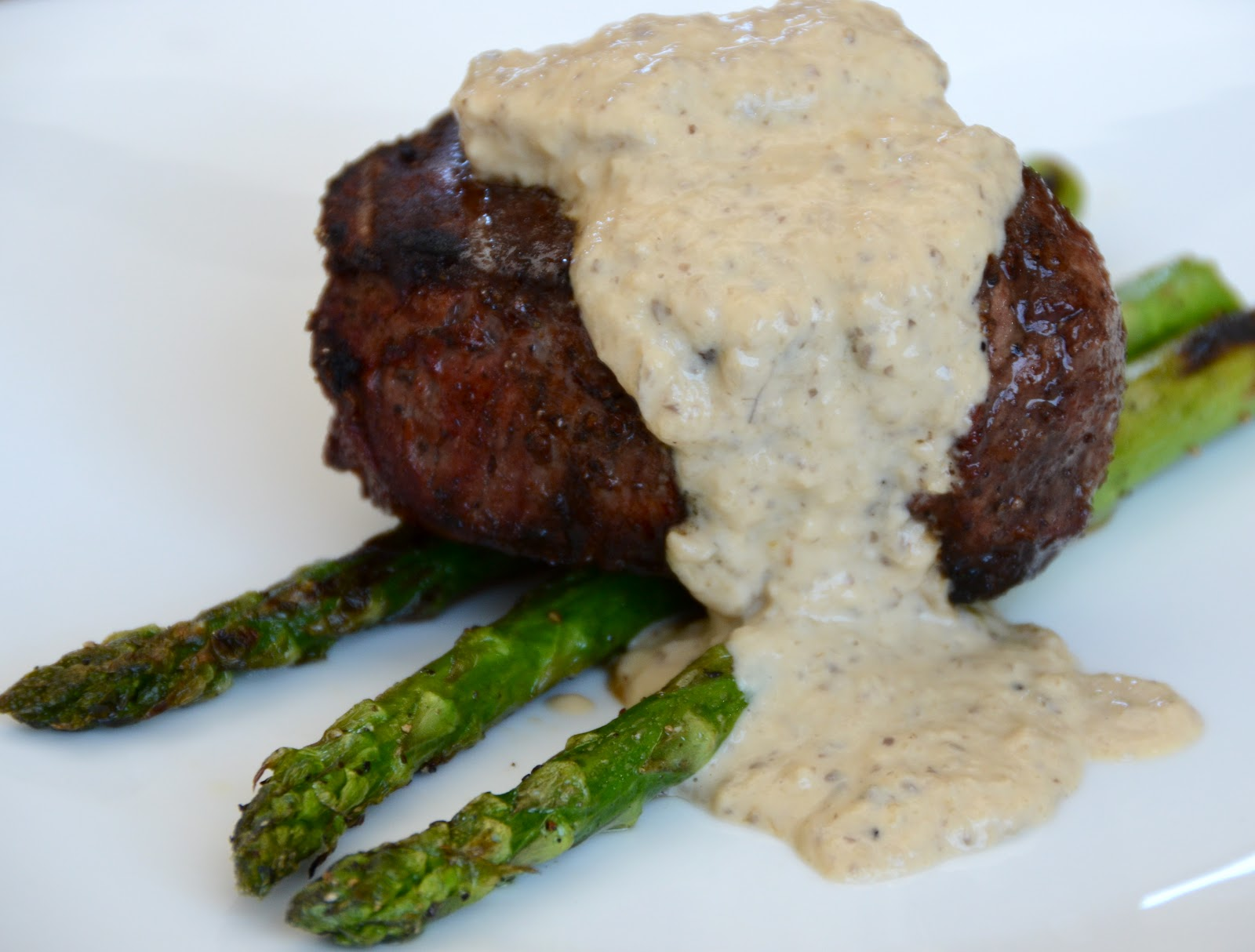 Grilled Fillet Mignon with Creamy Mushroom Sauce - Delights Of ...