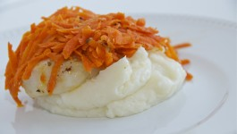 Orange Roughy with Carrots