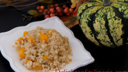 pumpkin brown rice