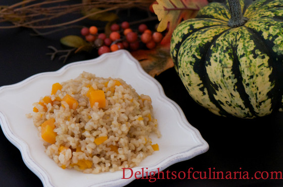 pumpkin brown rice