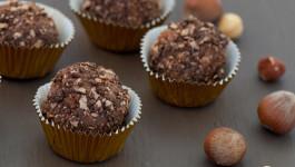 Hazelnut Cake truffles