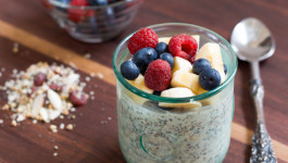 overnight oats and buckwheat
