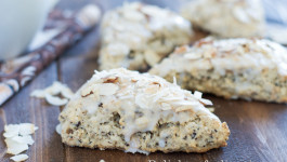 almond coconut and chocolate scones-3