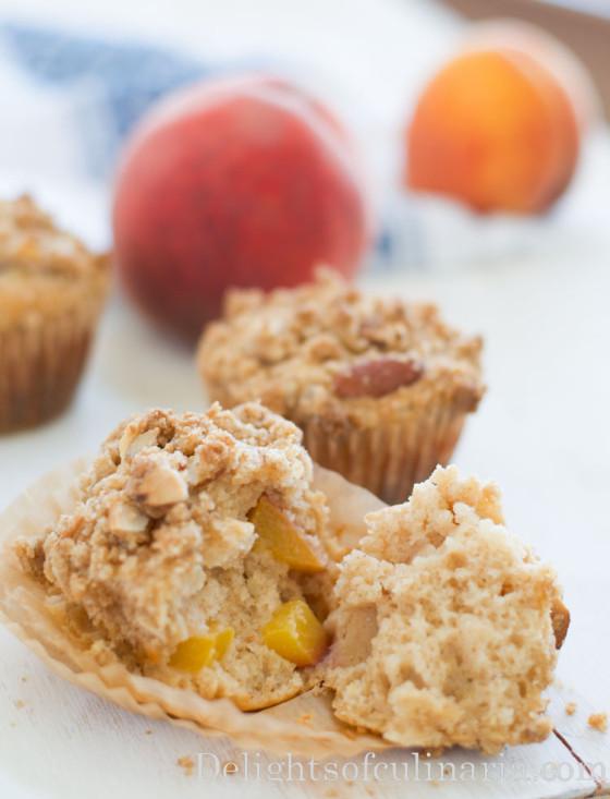peach muffins-5