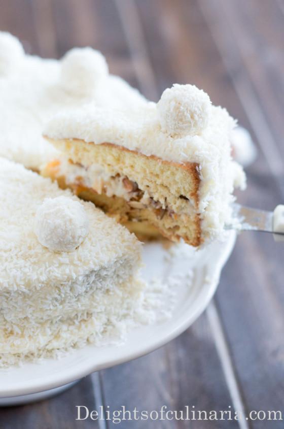 raffaello cake