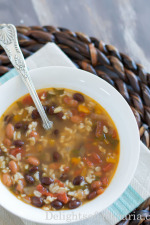bean and rice soup-2