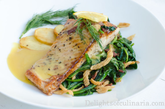 beurre blanc saucebaby potatoes, beurre blanc sauce, easy recipe, fish, recipes, salmon, seafood
